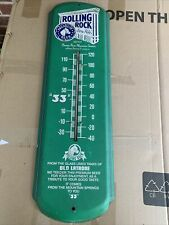 Vintage Rolling Rock Latrobe Brewing Co. Thermometer🔥🔥🔥