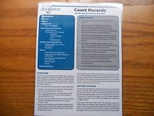 Genealogy At A Glance : Court Records