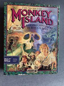 The Secret Of Monkey Island Atari ST Lucasfilm Games
