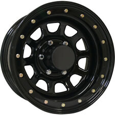 4 - 15x8 Gloss Black Wheel Pro Comp Series 252 (252) 5x4.5 -19