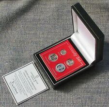 More details for 1936 edward viii silver maundy set, impression by london mint office