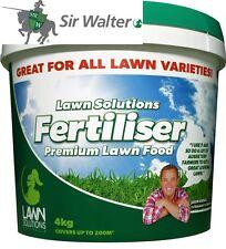 4kg Sir Walter Buffalo Premium Special Formula Lawn Fertilizer Fertiliser Food