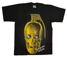 Cali Classics [Golden Skull] t-shirt Granada tatuaje Ink Army Biker rocker Cali