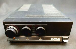 Mission Cyrus 1 One Mk.2 Amplifier SERVICED & WORKING Vintage HiFi 1980s Phono