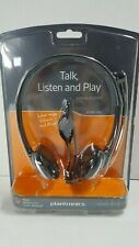 Plantronics Audio 326 Wired PC Over-The-Head NC Headset Skype Chat Yahoo Messeng