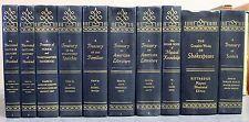 Treasury of Literature Speeches Familiar Toastmasters Shakespeare Set Grolier