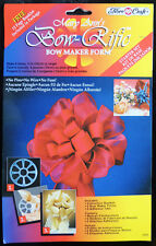 Mary Ann's Bow-Rific Bow Maker Starter Kit 6 Forms 6 Adhesive Tabs Fibre-Craft