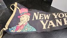 1950s New York Yankees Uncle Sam Pennant