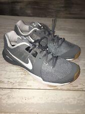 Nike Train Prime Iron DF Training Shoes 832219-010 Grey White Men's Size 8