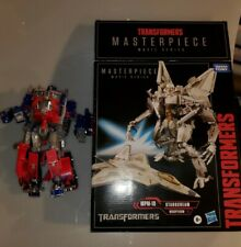 READ DESCRIPTION Transformers Masterpiece Movie Series Starscream &Optimus Prime