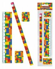 Bulk Wholesale Job Lot 72 Building Brick Stationery Sets Toys