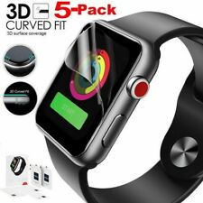 3D Full Cover Hydrogel Screen Protector Film Soft For Apple Watch Series 5/4/3/2