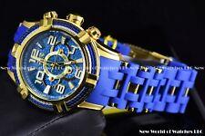 Invicta Mens 51mm Bolt Sea Spider Hybrid Tri Cable Alloy Chrono Azure Blue Watch