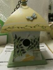 """The Kathy Hatch Collection 2001 - 8 1/2"""" Tall Bird House"""