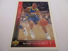 Carte NBA UPPER DECK 1993-94 FR #104 Mahmoud Abdul-Rauf Denver Nuggets