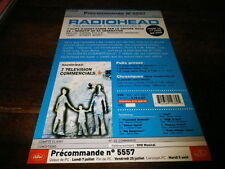 RADIOHEAD - Plan média / Press kit !!! 7 TELEVISION COMMERCIALS !!!