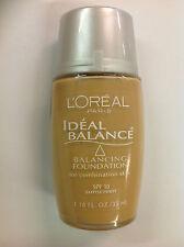 L'Oreal Ideal Balance Balancing Foundation GOLDEN #316 NEW.