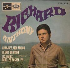 """RICHARD ANTHONY - aranjuez mon amour + 2 45"""" EP"""
