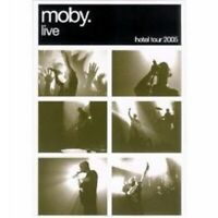 """MOBY """"MOBY LIVE: THE HOTEL TOUR 2005"""" DVD+CD NEW"""