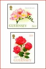 GUR9702 Roses and freesia  2 stamps