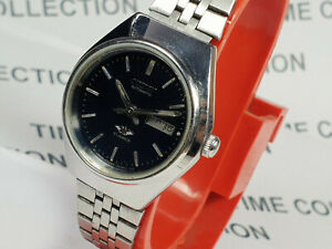 Vintage Citizen Mechanical Automatic Day Date Movement Wrist Watch WU226 F