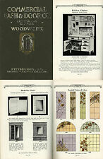 COMMERCIAL SASH & DOOR CO. Woodwork Catalog 1924 Cottage Doors Windows Furniture