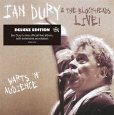 Warts 'N' Audience [Deluxe Casbound Book Edition] by Ian Dury/Ian Dury & the Bl…