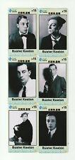(6) Buster Keaton Rare Phone Cards