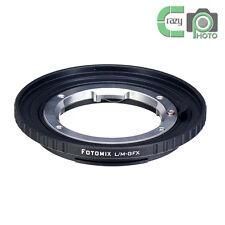 LM-GFX Adapter for Leica M Mount Lens to Fujifilm GFX Medium Format Camera