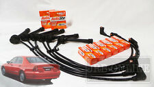 MITSUBISHI MAGNA TF TH TJ TL TW V6 IGNITION LEADS SPARK PLUG SERVICE KIT