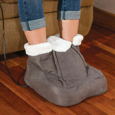 NEW Foot Cozy Heated Massager - Fleece Lined Interior w/ Remote Control