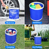 Collapsible Foldable Bucket Portable Water Fishing Camping Container Wash Basin