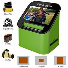 Digital Film Scanner Haute Résolution 22 MP 35mm Super 8 110 et 126 avec 4.3'...