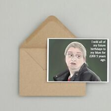 Recycled Hand Made Card This Country Inspired Birthday Card Funny/Humour