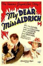 My Dear Miss Aldrich - 1937 Maureen O'Sullivan Walter Pidgeon Vintage Comedy DVD