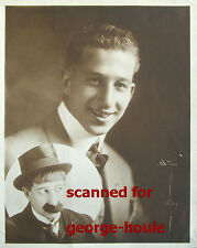 HANK MANN -PHOTOGRAPH - SIGNED  - CHAPLIN - DR. JEKYLL & MR. HYDE