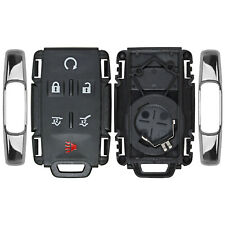 New Remote Keyless Key Fob Replacement Housing Case Button Pad For Gm Suv