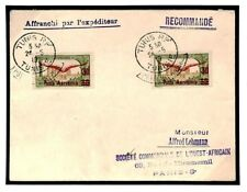 Z106 French Colonies Tunisia  Foreign Air Mail 1919 Cover {samwells-covers}