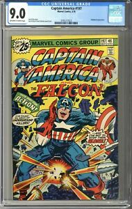 Captain America #197 CGC 9.0