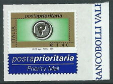 2004 ITALIA POSTA PRIORITARIA 1,40 EURO TIPOGRAFICA MNH ** - ED3