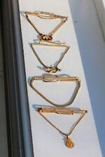 Antique Vintage Gold Filled 4 Tie Clip 34 Grams Total NOT SCRAP
