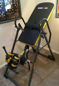 IRONMAN Gravity 5000 Highest Weight Capacity Inversion Table with NO Pinch Airso
