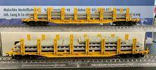 Märklin 94533 & 94533.001 Rungenwagen der DB in gelb , SONDERMODELL, Spur H0