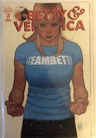 Betty & Veronica #3 Adam Hughes Team Betty Variant ARCHIE COMICS RARE 1st Print