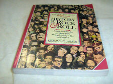 """""""THE ROLLING STONE ILLUSTRATED HISTORY OF ROCK & ROLL"""" by Jim Miller-1980   USED"""