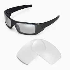 New Walleva Clear Replacement Lenses For Oakley Gascan Sunglasses