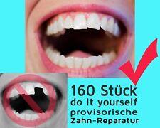 160 St. vorläufige ZAHN FÜLLUNG prov. Zahnersatz Reparatur teeth Granulat NEW