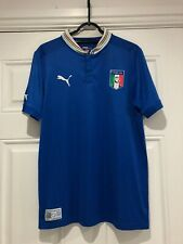 2012-13 Italy Home Shirt - 34/36