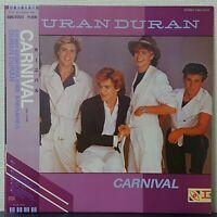DURAN DURAN CARNIVAL EMI EMS-50125 Japan OBI VINYL LP