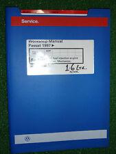 VW VOLKSWAGEN PASSAT 1.6L PETROL Fi ENGINE OEM FACTORY WORKSHOP MANUAL ADP 1997>